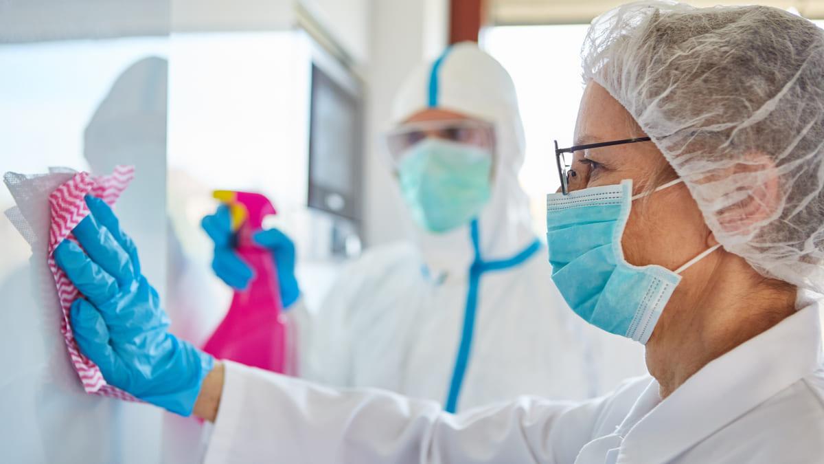 Higiene y desinfección en los hospitales
